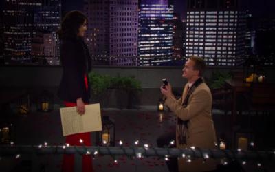 Proposte di matrimonio nelle serie TV: Friends e How I met your mother